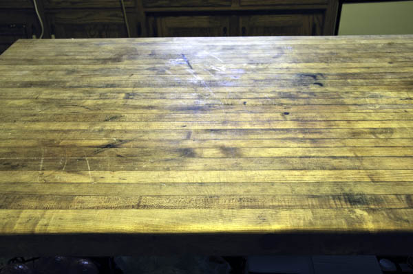 Butcher Block Maintenance Time The